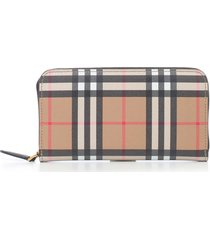 burberry elmore zip-around wallet
