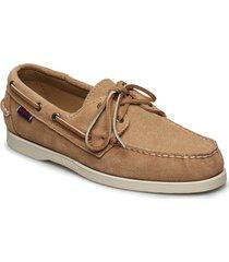 docksides portland båtskor skor beige sebago