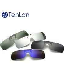 tenlon glasses polarized clip on sunglasses men uv400 myopia women sunglasses su