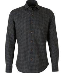 polka dot flannel shirt