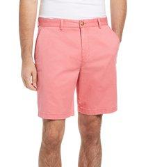 men's vineyard vines 9 inch stretch breaker shorts, size 38 - red