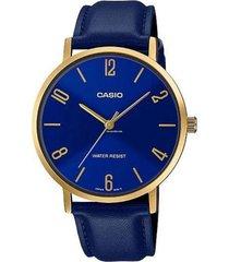reloj azul casio mtpvt01gl-2b2udf - superbrands