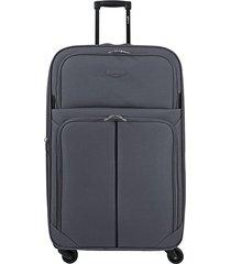 "maleta de viaje mediana speed 26"" gris - explora"