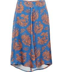 rosemary skirt knälång kjol multi/mönstrad wood wood