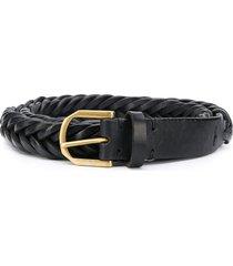 ajmone woven belt - black