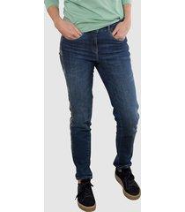 jeans dress in medium blue