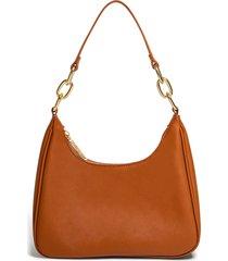 house of want newbie vegan leather shoulder bag - brown