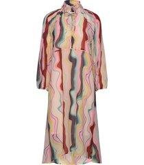 arizonakb dress knälång klänning multi/mönstrad karen by simonsen
