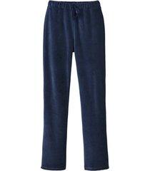velours broek, nachtblauw 34