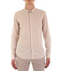 overhemd lange mouw bicolore f3709-mussola