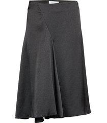 eva skirt 11163 knälång kjol svart samsøe samsøe