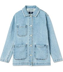 mary-ann denim jacket heavy vintage wash