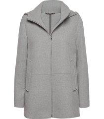 jackets outdoor woven ulljacka jacka grå esprit casual