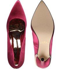 tacones para mujer marca paris hilton color rojo paris hilton - rojo