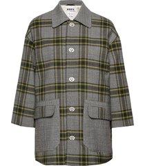 uni jacket långärmad skjorta grön hope