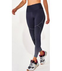 calça legging alto giro hyper graphic degradê preto 2112332 preto