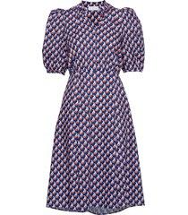 linh long dress kort klänning multi/mönstrad storm & marie