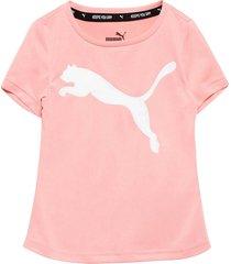 active tee g t-shirts short-sleeved rosa puma