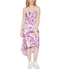 bcbgeneration tie-dyed high-low dress