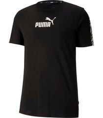 camiseta amplified tee puma mujer 581384 01 negro