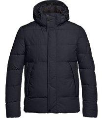 gewatteerde jas milton donkerblauw