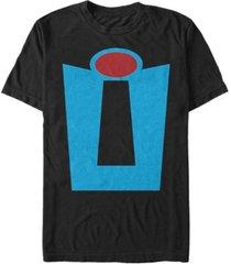 disney pixar men's incredibles suit costume short sleeve t-shirt