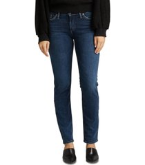 silver jeans co. elyse curvy-fit slim jean