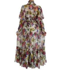 zijden lange jurk jurk