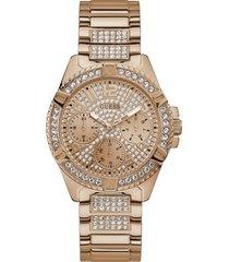 reloj guess mujer lady frontier/w1156l3 - oro rosa