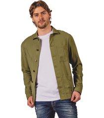 chaqueta pmp verde militar  utilitaria