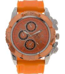 reloj casual naranjo vox