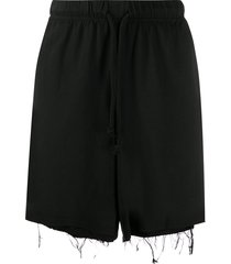 424 double-layered shorts - black