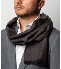 sciarpa da uomo, maalbi, lana talpa, autunno inverno | lanieri