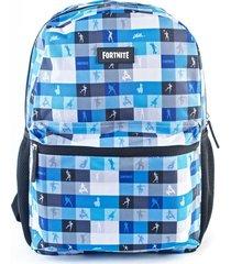 mochila azul fortnite