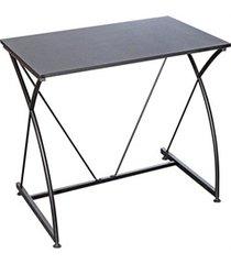mesa para computador laminada 80x51x73cm preto