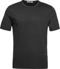 olaf t-shirts short-sleeved svart tiger of sweden