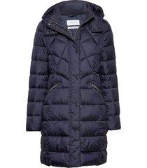 outdoor jacket no wo gevoerde lange jas blauw gerry weber edition