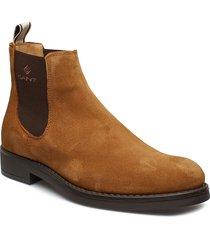 oscar chelsea shoes chelsea boots brun gant