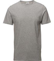 m. lycra tee t-shirts short-sleeved grå filippa k