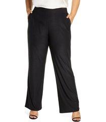plus size women's coldesina jet set pants, size xl/1x - black