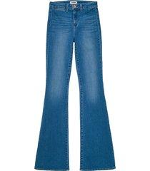 l'agence joplin high-rise flared jeans - monroe blue - size 23 (00)