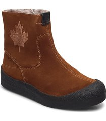 quebec shoes boots ankle boots ankle boot - flat brun canada snow