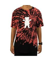 camiseta grizzly og bear fruit puch tie dye multi masculina