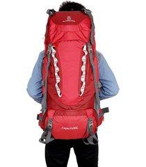 mochila hombre y mujere bolsa de alpinismo 80l mochila