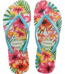 sandalias havaianas slim hibisco