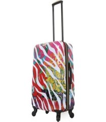 "halina bee sturgis serengeti reflections 24"" hardside spinner luggage"