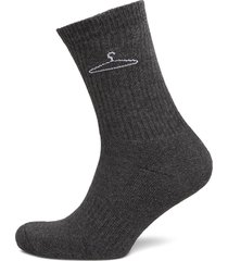 hanger sock underwear socks regular socks grå holzweiler