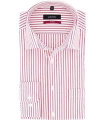 overhemd seidensticker modern fit rood