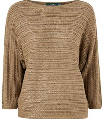 tröja alzinda 3/4 sleeve sweater