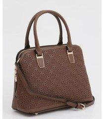 bolsa chenson de mão textura feminina
